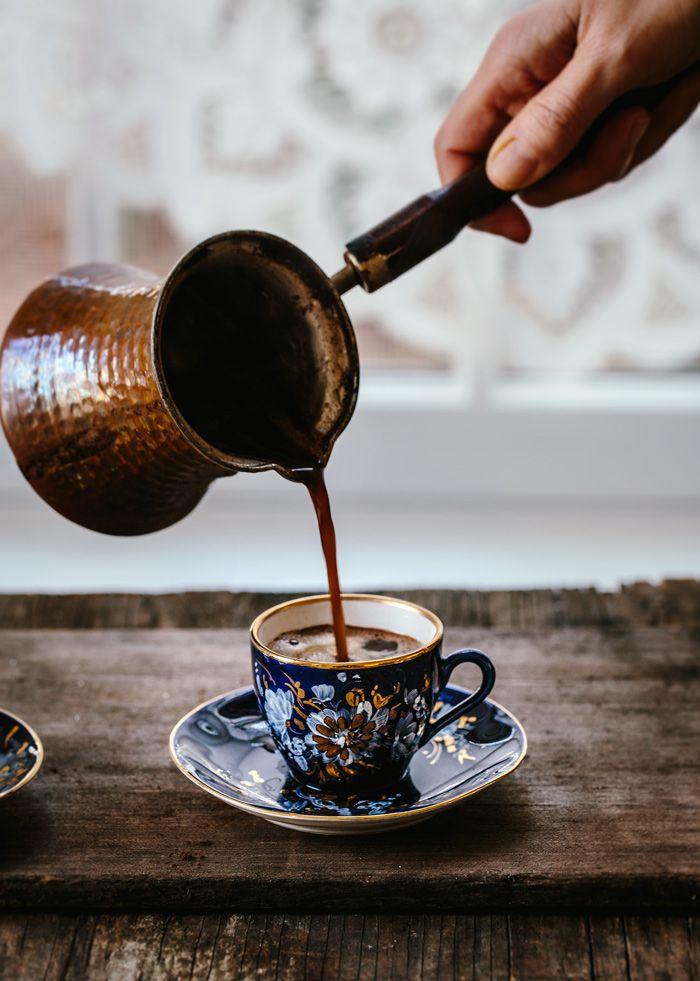 نکات تهیه قهوه ترک