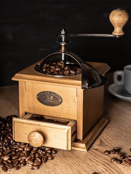 خودروسازی پژو مخترع آسیاب قهوه