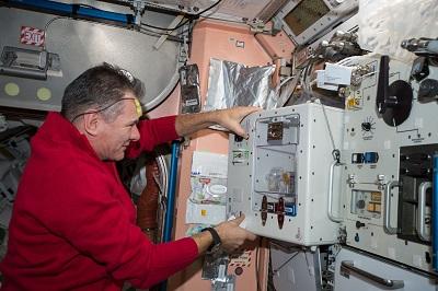 قهوه لاوازا در فضاپیما